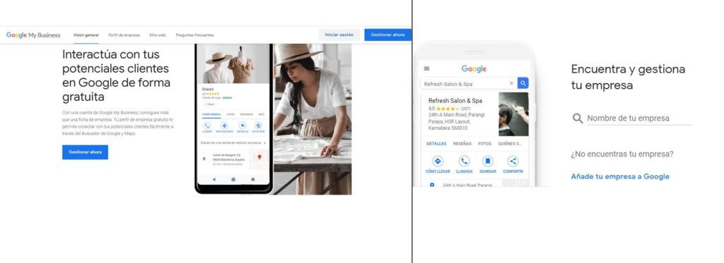 añadir negocio a google maps