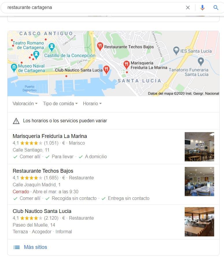 como salir en google maps